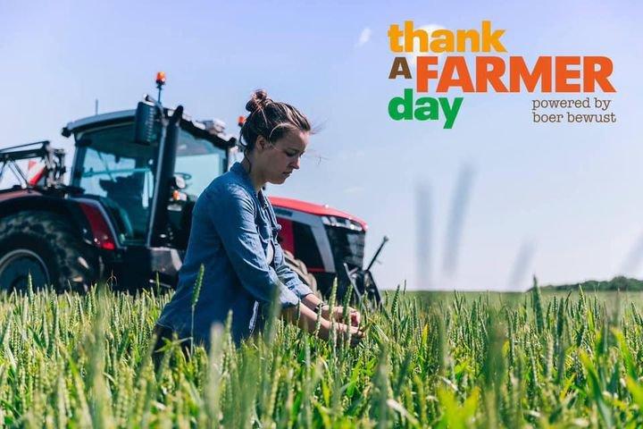 Vandaag is het #thankafarmer day!