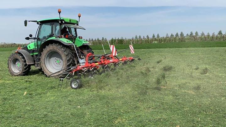 Nieuwe FELLA schudder voor Kaasboerderij de Buitenhoeve!