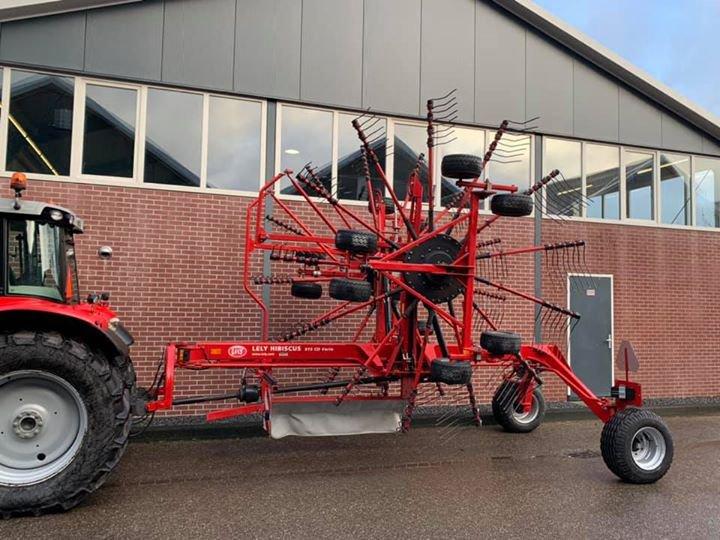 Lely hark hibiscus 915 vario afgeleverd te Herwijnen